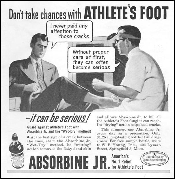 ABSORBINE JR. NEWSWEEK 06/11/1951 p. 84