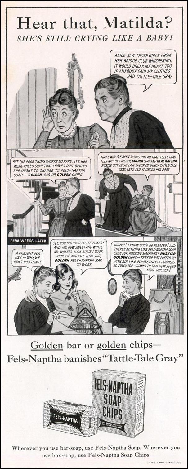 FELS-NAPTHA SOAP LIFE 09/30/1940 p. 100