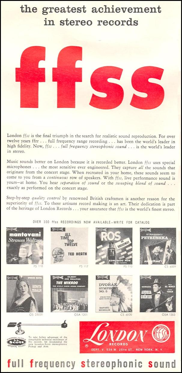 FULL FREQUENCY STEREOPHONIC SOUND RECORDINGS TIME 09/15/1958 p. 6