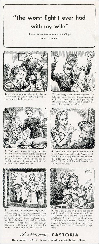 FLETCHER'S CASTORIA LIFE 09/30/1940 p. 97