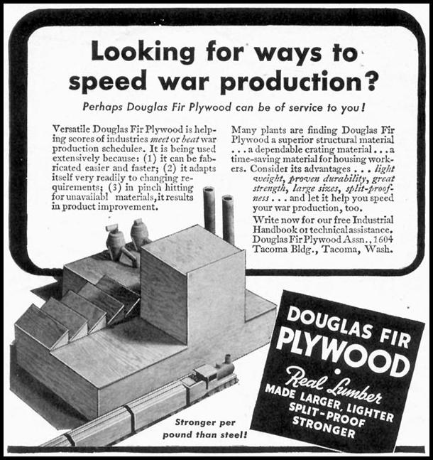 DOUGLAS FIR PLYWOOD TIME 06/15/1942 p. 70
