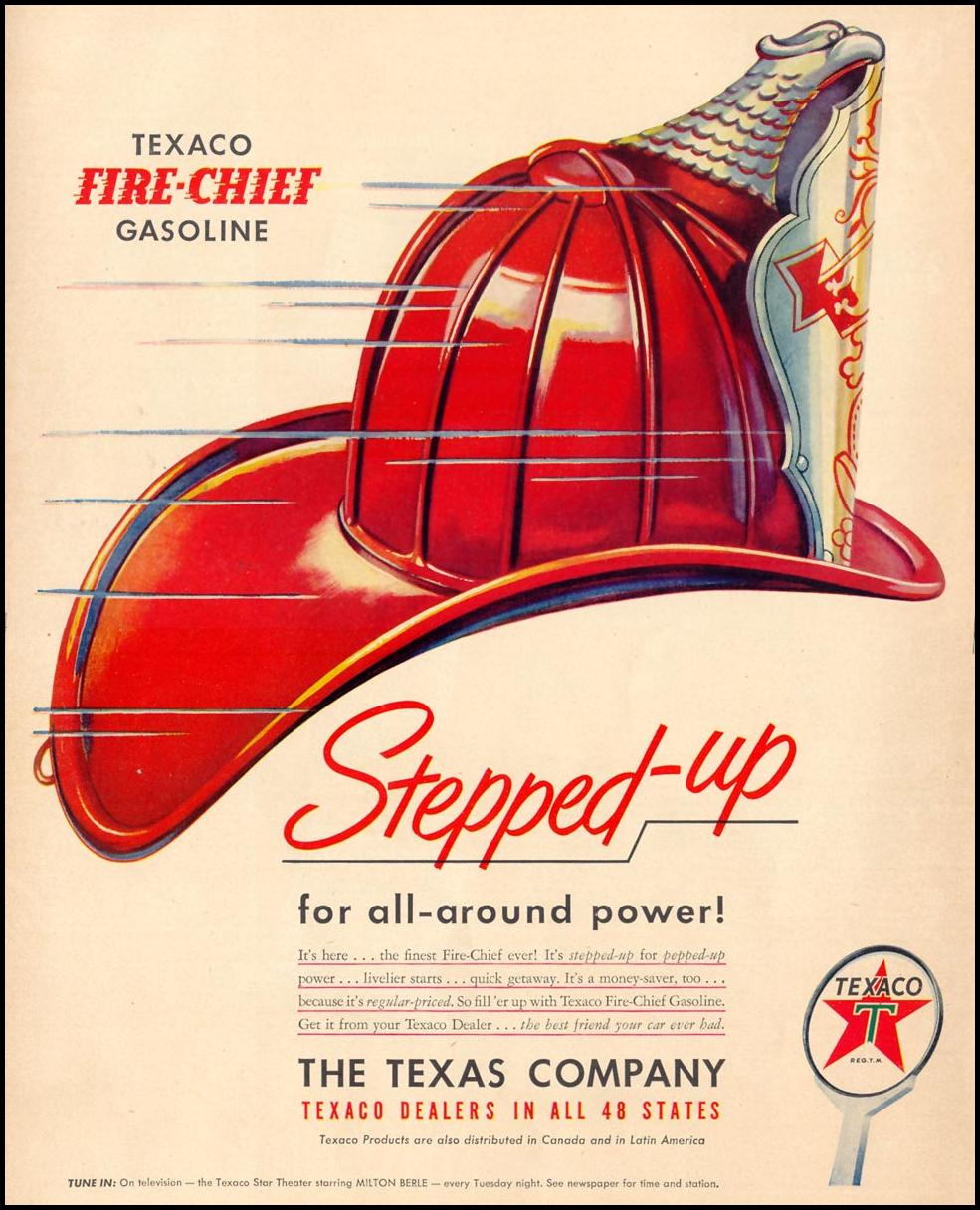 TEXACO FIRE-CHIEF GASOLINE LIFE 04/17/1950 p. 34