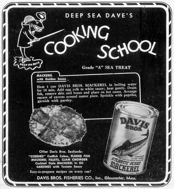 DAVIS BROS. SEAFOODS WOMAN'S DAY 09/01/1948 p. 100