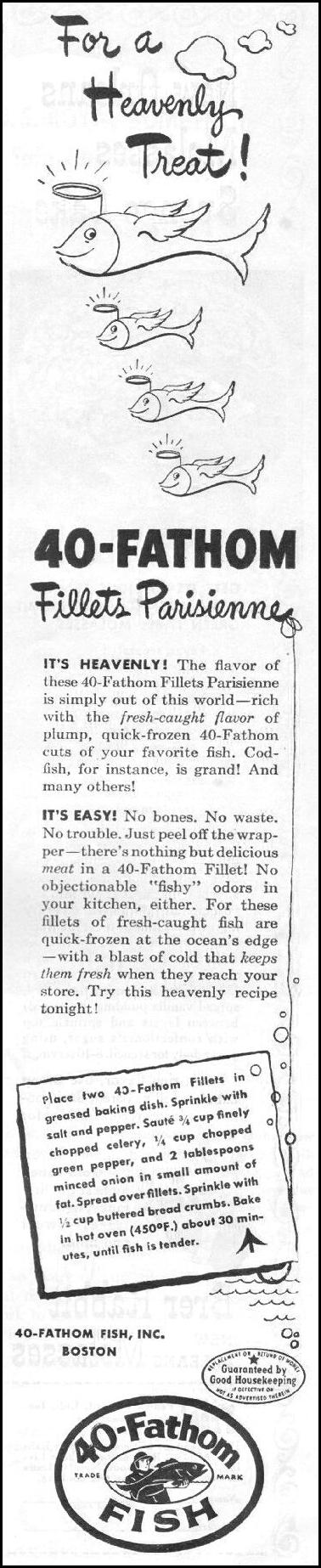 40 FATHOM BRAND FISH LIFE 03/12/1945 p. 105