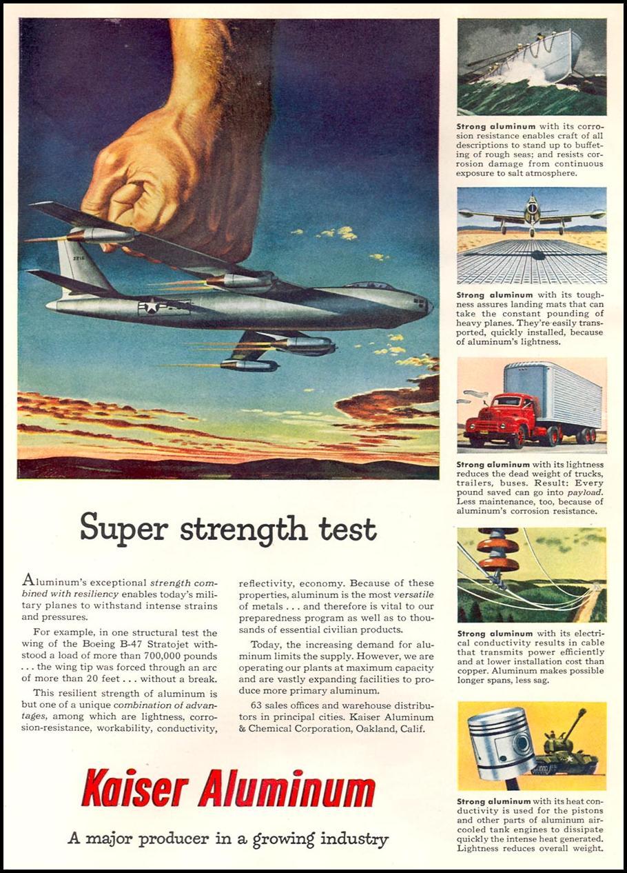 ALUMINUM NEWSWEEK 08/20/1951 p. 86