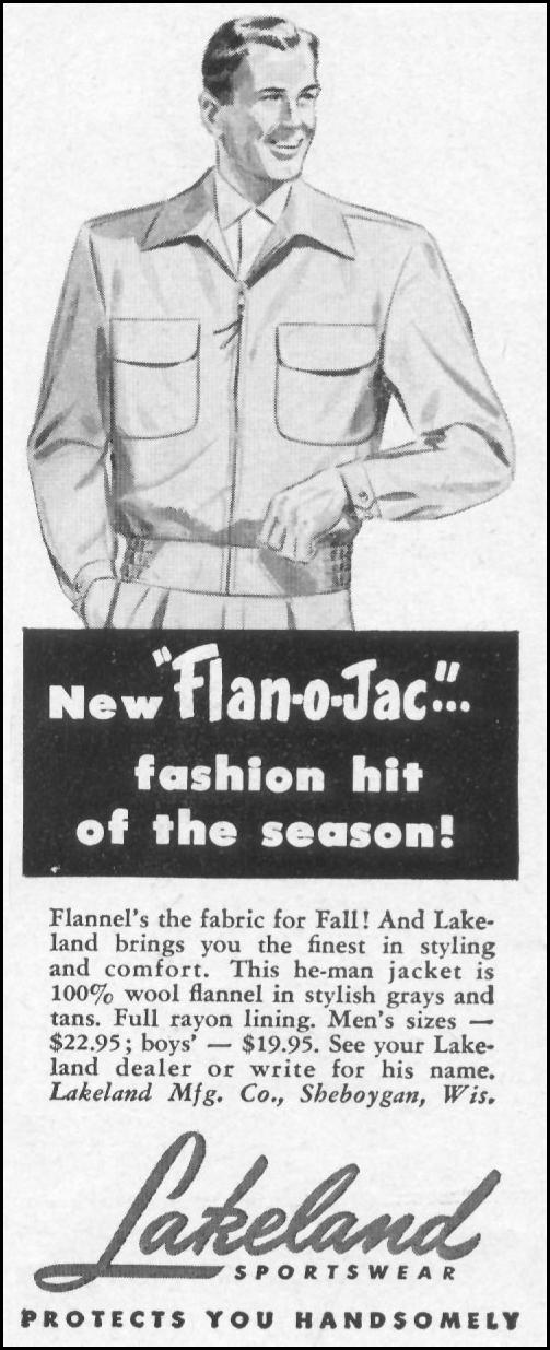FLAN-O-JAK JACKET LIFE 10/13/1952 p. 100