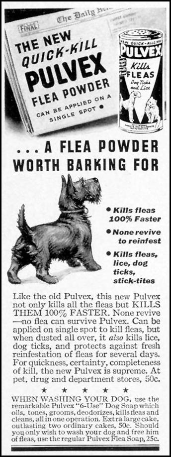 PULVEX FLEA POWDER LIFE 07/18/1938 p. 66
