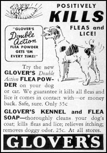 GLOVER'S KENNEL AND FLEA SOAP LIFE 08/09/1937 p. 92