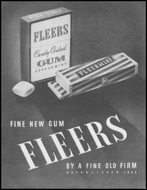 FLEERS CHEWING GUM LIFE 08/09/1943 p. 91