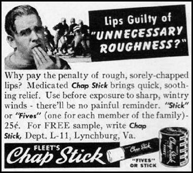 CHAP STICK LIP BALM LIFE 09/29/1941 p. 100