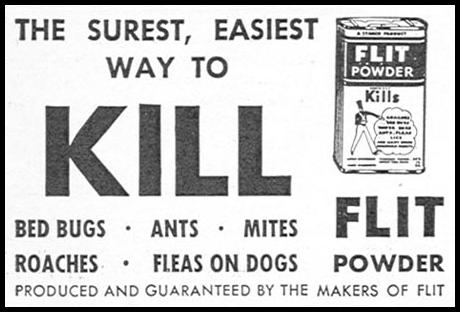 FLIT INSECTICIDE GOOD HOUSEKEEPING 12/01/1934 p. 205