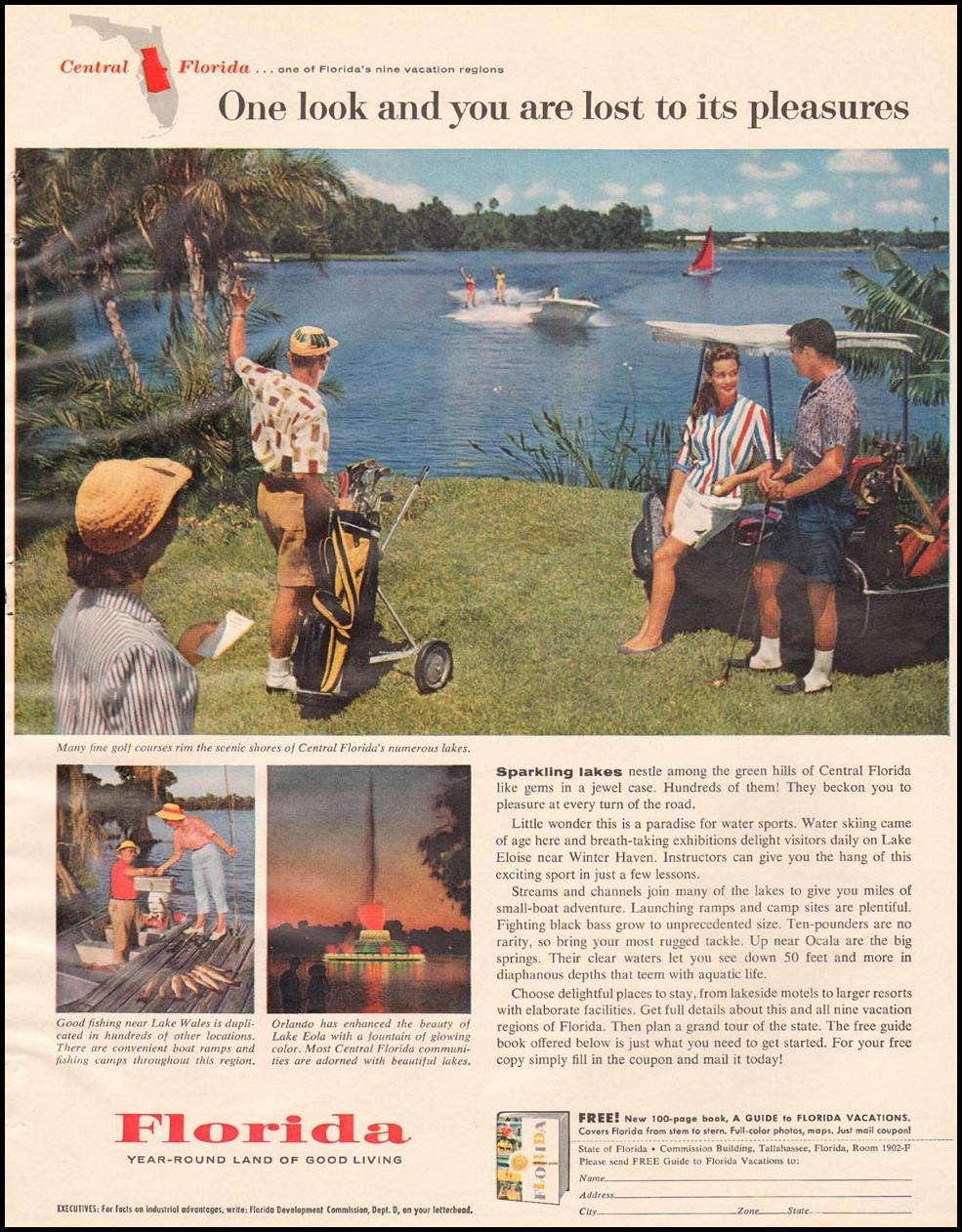 FLORIDA VACATIONS BETTER HOMES AND GARDENS 03/01/1960