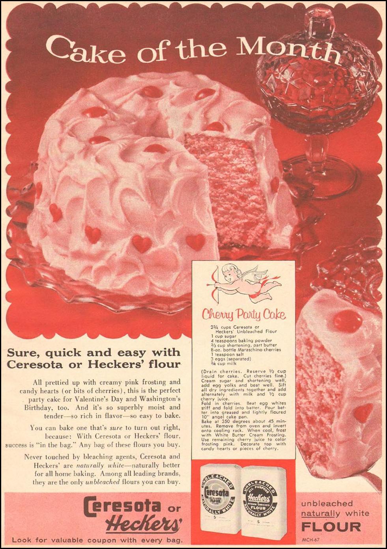 CERESOTA FLOUR FAMILY CIRCLE 02/01/1957 p. 75