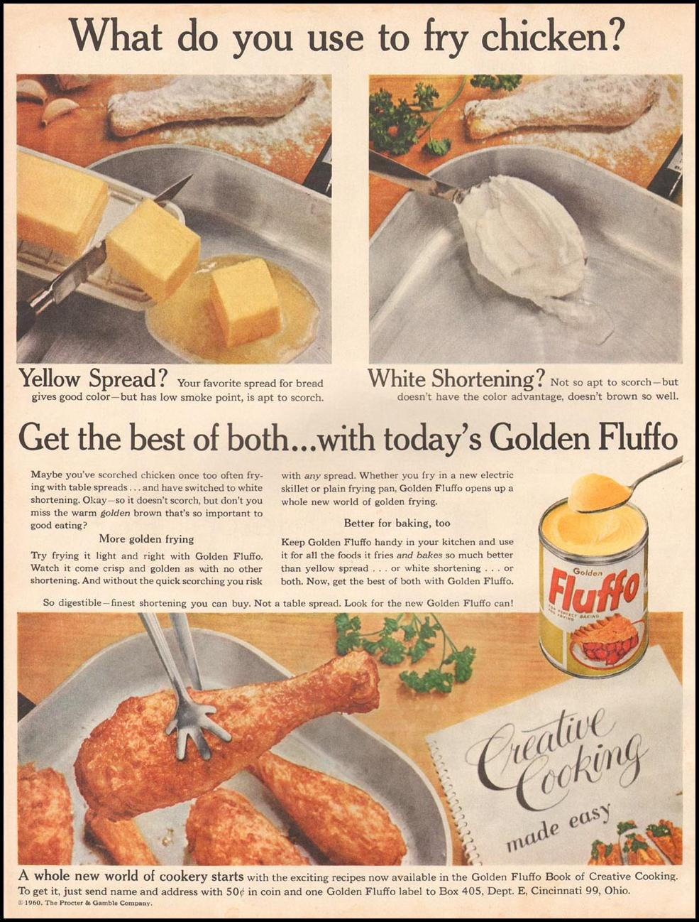 GOLDEN FLUFFO SHORTENING BETTER HOMES AND GARDENS 03/01/1960 p. 96