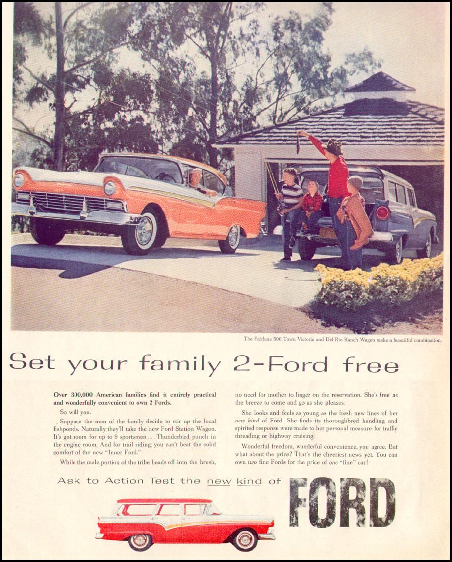 FORD AUTOMOBILES LIFE 04/08/1957 p. 146