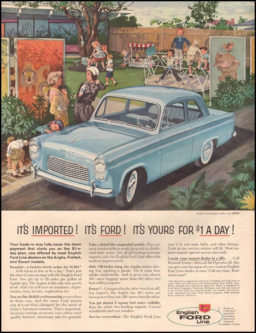 FORD AUTOMOBILES LIFE 08/10/1959