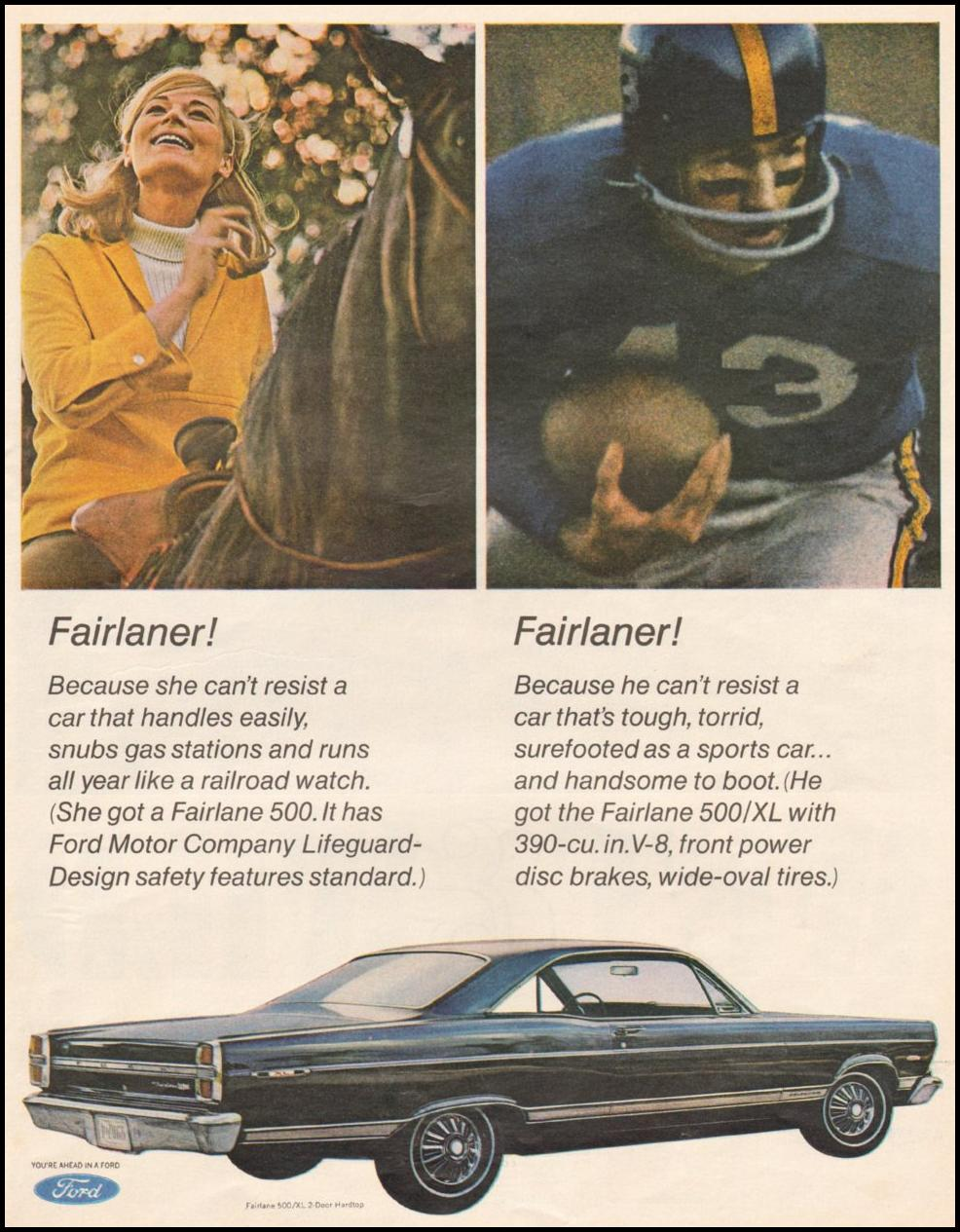 FORD AUTOMOBILES LIFE 11/04/1966