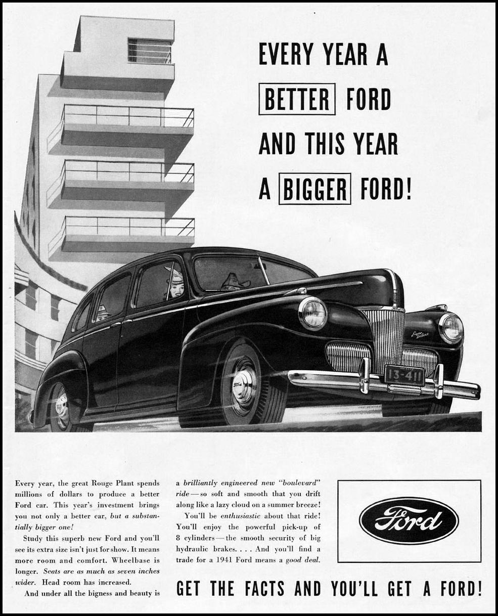 FORD AUTOMOBILES LIFE 12/16/1940 p. 83