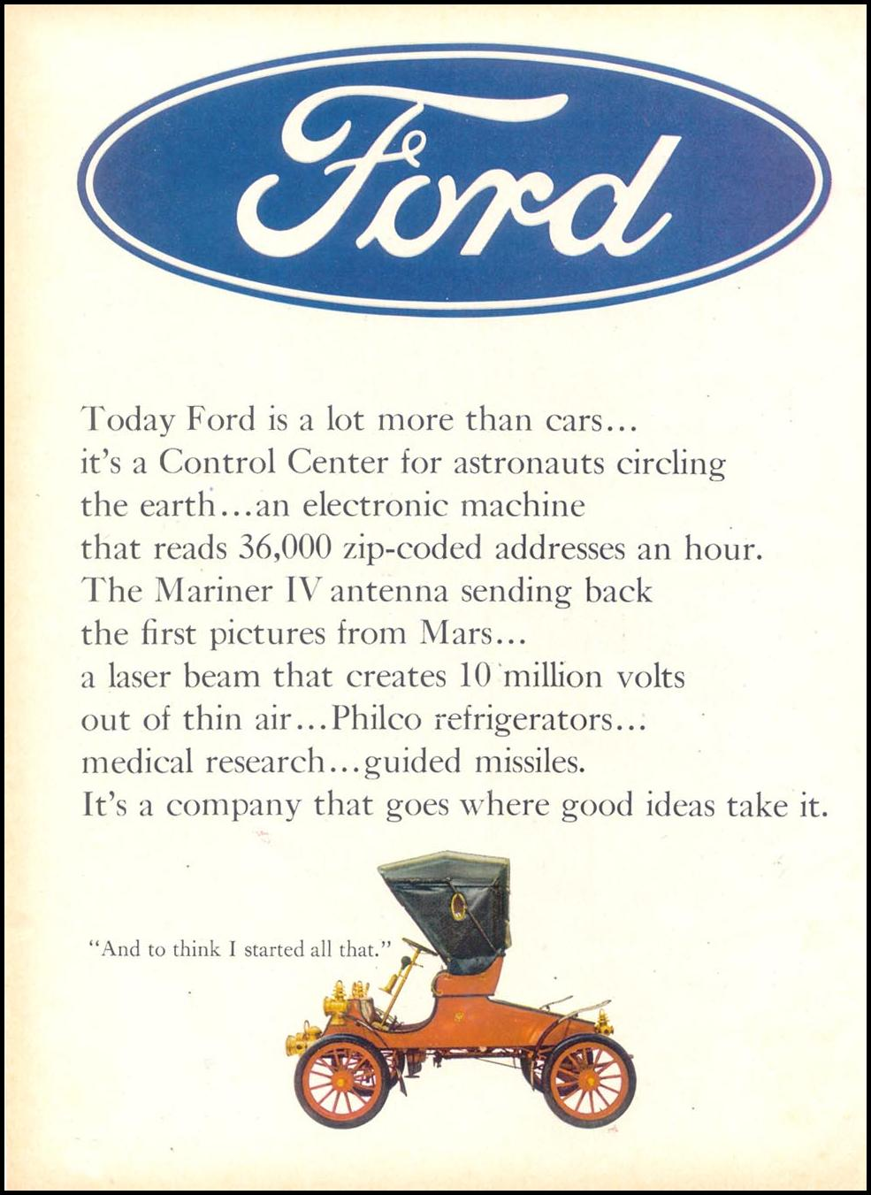 FORD AUTOMOBILES TIME 03/11/1966 p. 56