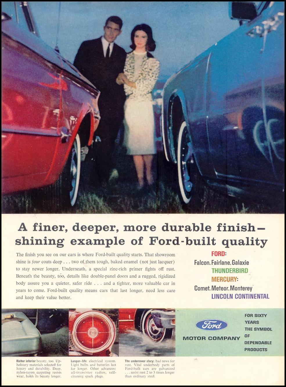 FORD AUTOMOBILES TIME 12/07/1962 p. 27