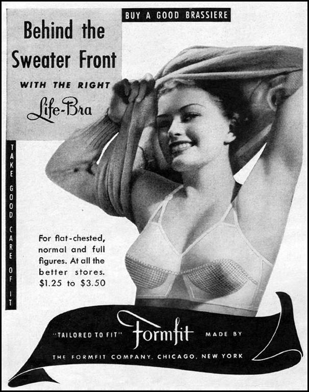 FORMFIT LIFE-BRAS LIFE 10/11/1943 p. 22