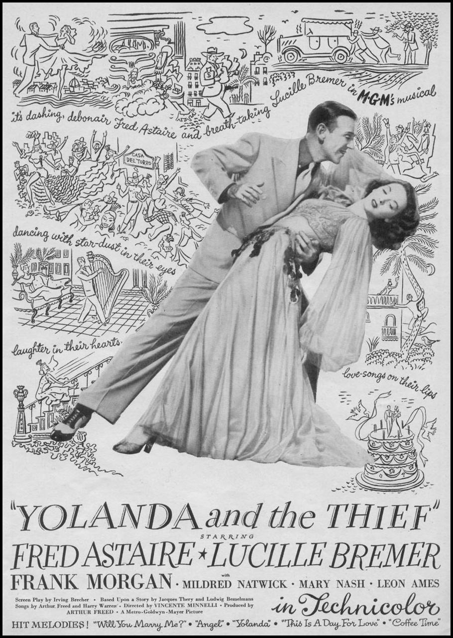 YOLANDA AND THE THIEF WOMAN'S DAY 11/01/1945 p. 61