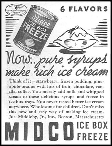 MIDCO ICE BOX FREEZE GOOD HOUSEKEEPING 06/01/1935 p. 200