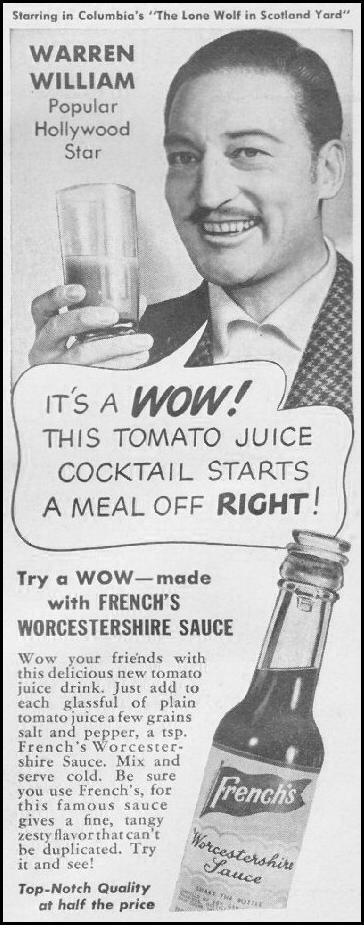 FRENCH'S WORCESTERSHIRE SAUCE LIFE 06/22/1942 p. 62