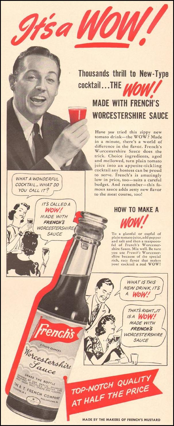 FRENCH'S WORCESTERSHIRE SAUCE LIFE 08/04/1941 p. 53