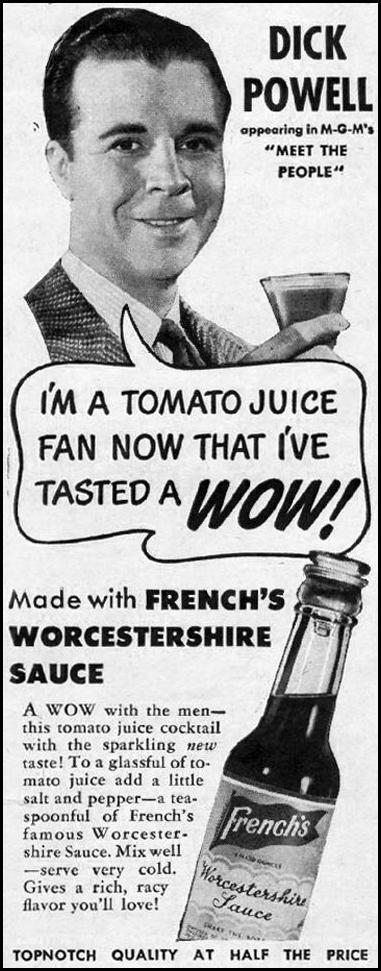 FRENCH'S WORCESTERSHIRE SAUCE LIFE 11/13/1944 p. 102