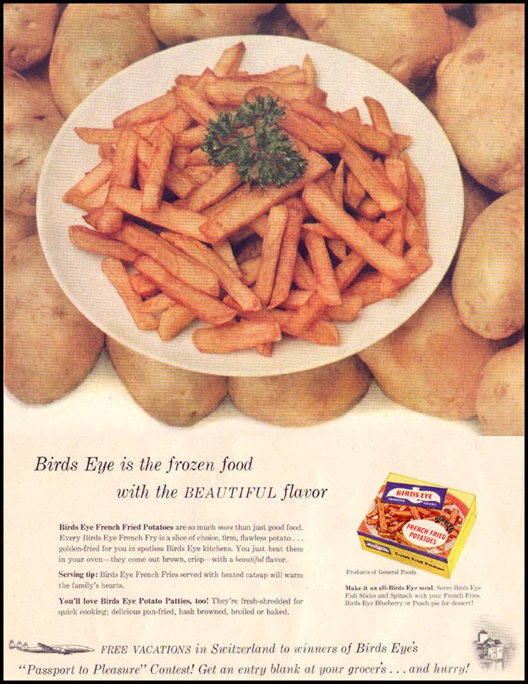 BIRDS EYE FROZEN FOODS LIFE 04/08/1957 p. 40