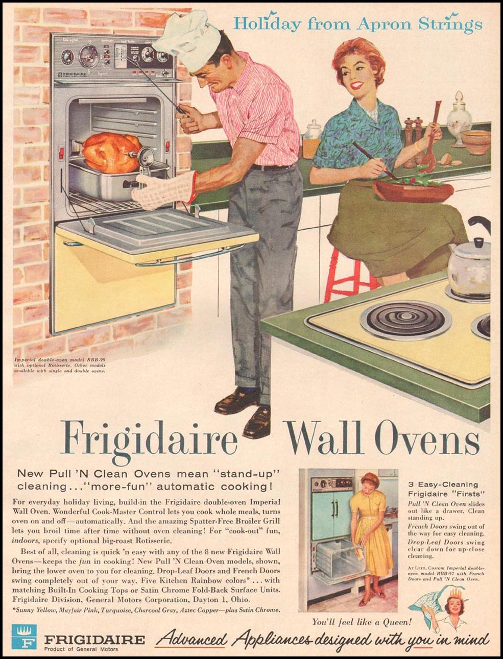 FRIGIDAIRE WALL OVENS BETTER HOMES AND GARDENS 03/01/1960 p. 31
