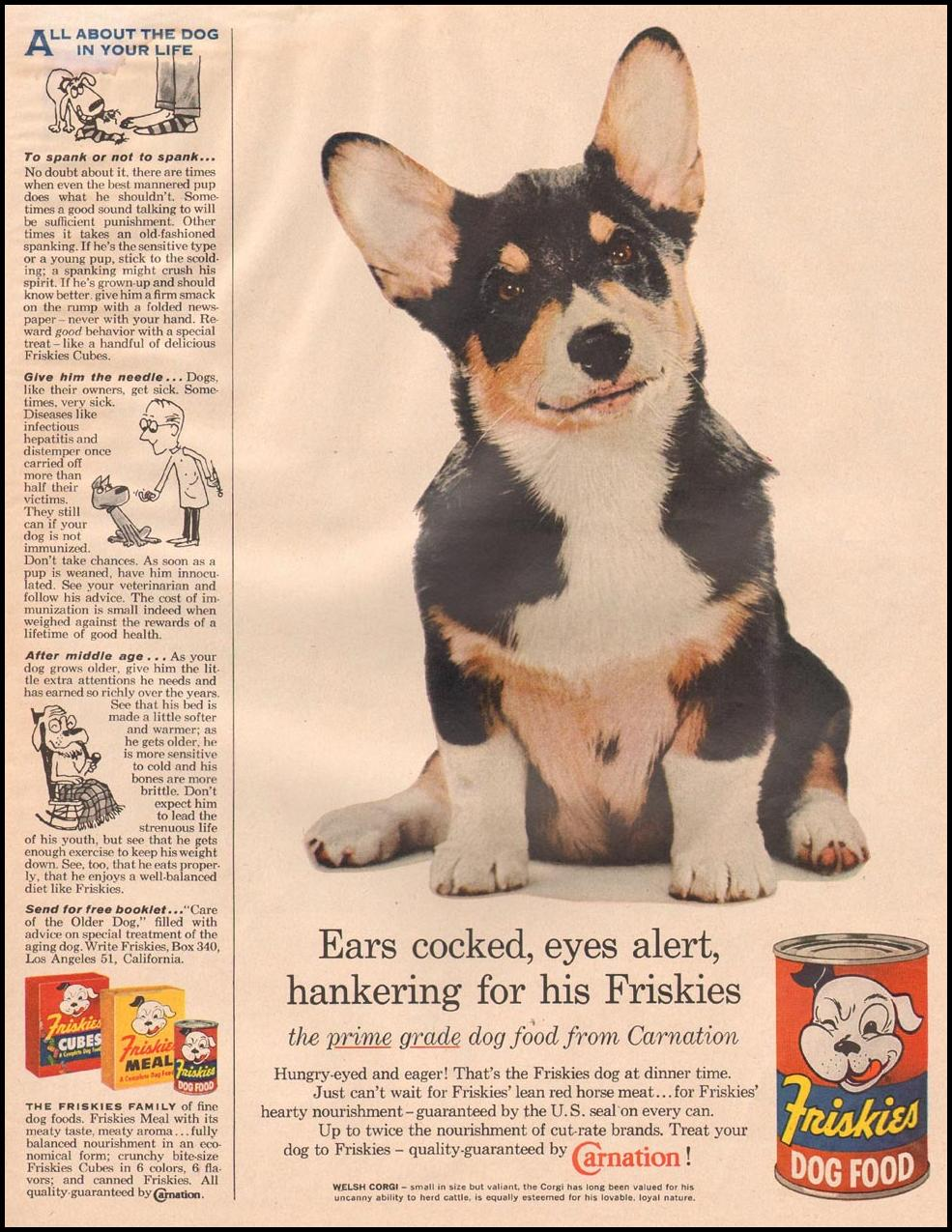 FRISKIES DOG FOOD LIFE 11/24/1957