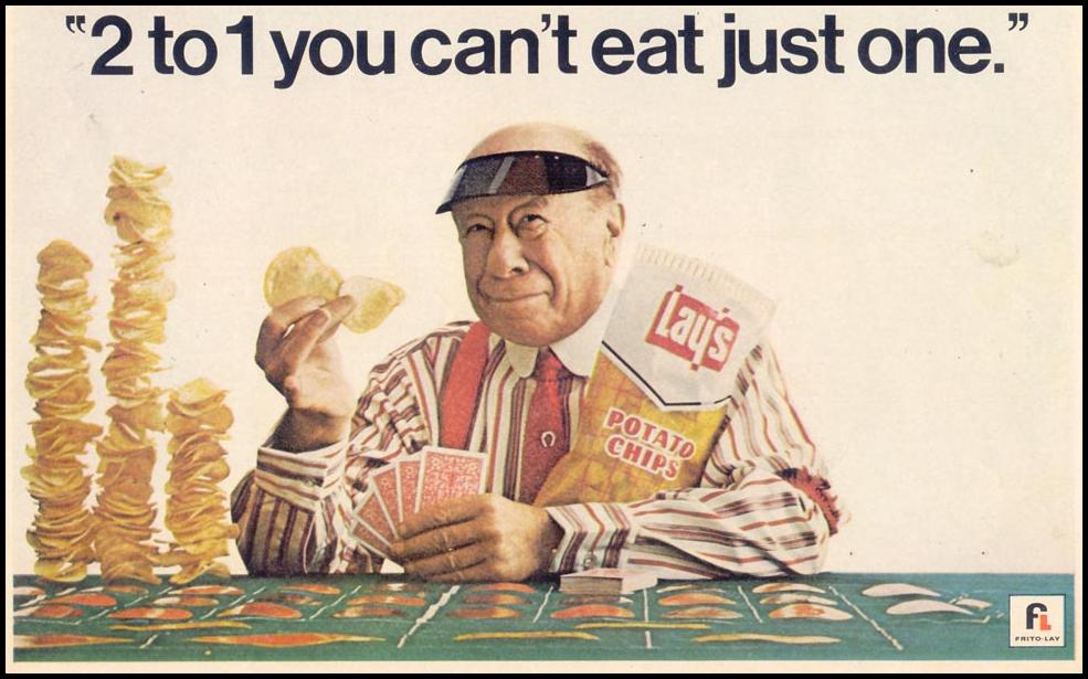 LAY'S POTATO CHIPS LIFE 05/19/1967 p. 52