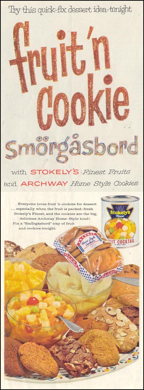 ARCHWAY COOKIES SATURDAY EVENING POST 05/02/1959 p. 4