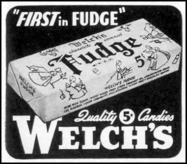 WELCH'S FUDGE LIFE 02/21/1944 p. 127