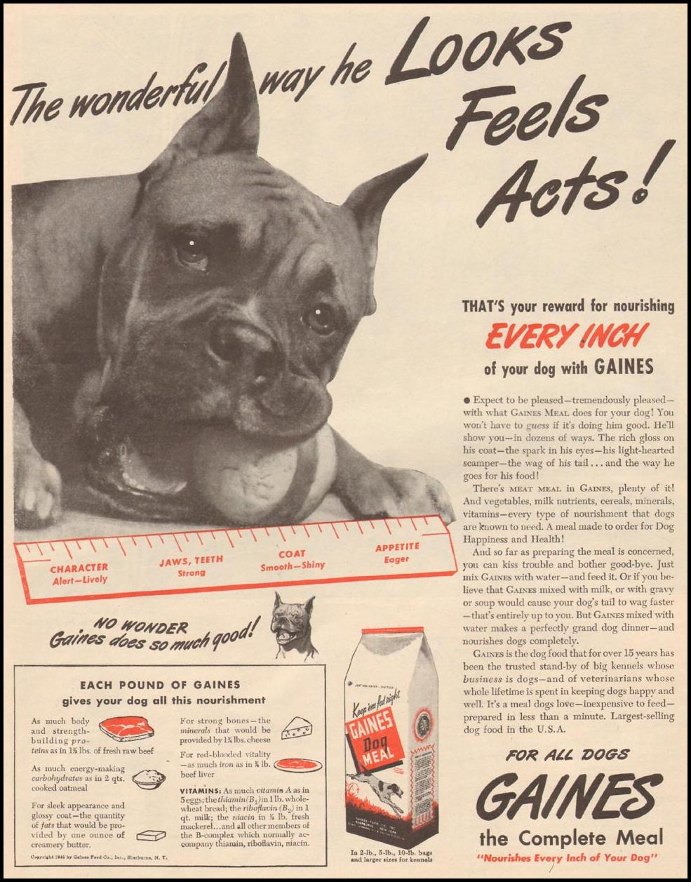 GAINES DOG MEAL LIFE 06/04/1945 p. 53
