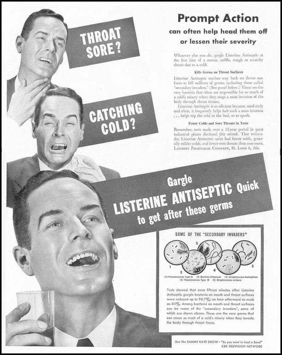 LISTERINE ANTISEPTIC LIFE 01/21/1952 p. 1