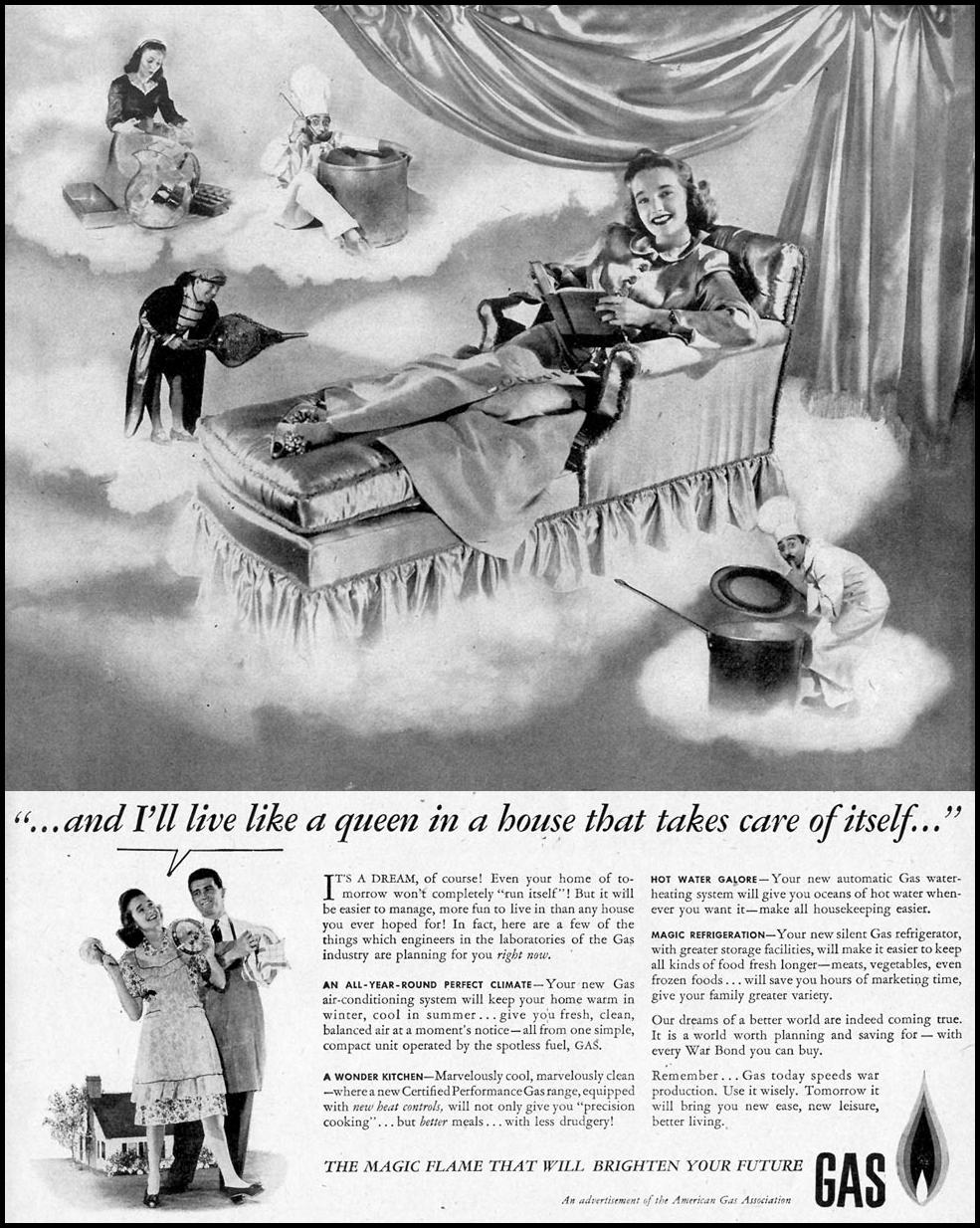 NATURAL GAS APPLIANCES LIFE 02/28/1944 p. 21