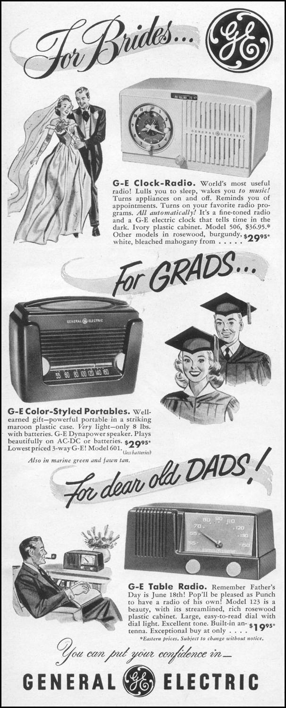 GENERAL ELECTRIC RADIOS LIFE 06/05/1950 p. 4