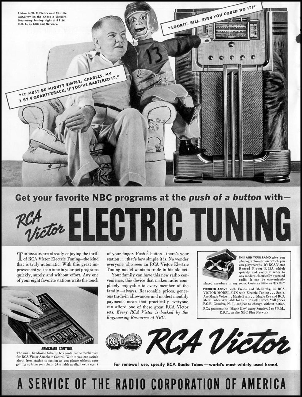 RCA VICTOR RADIOS LIFE 09/20/1937