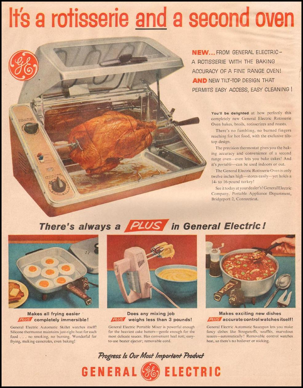 GENERAL ELECTRIC APPLIANCES LIFE 11/24/1957
