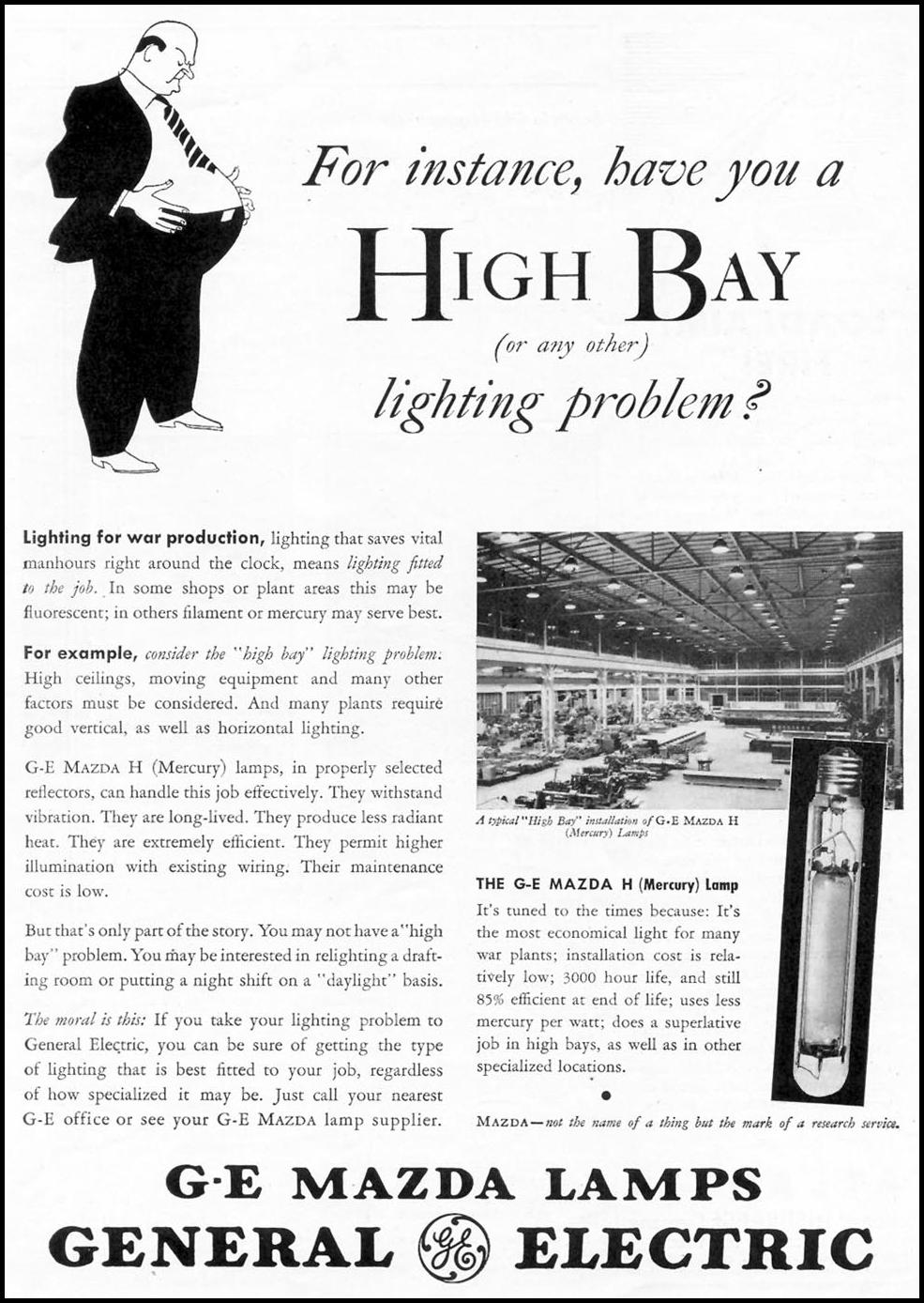 GENERAL ELECTRIC MAZDA LAMPS TIME 08/17/1942 p. 33