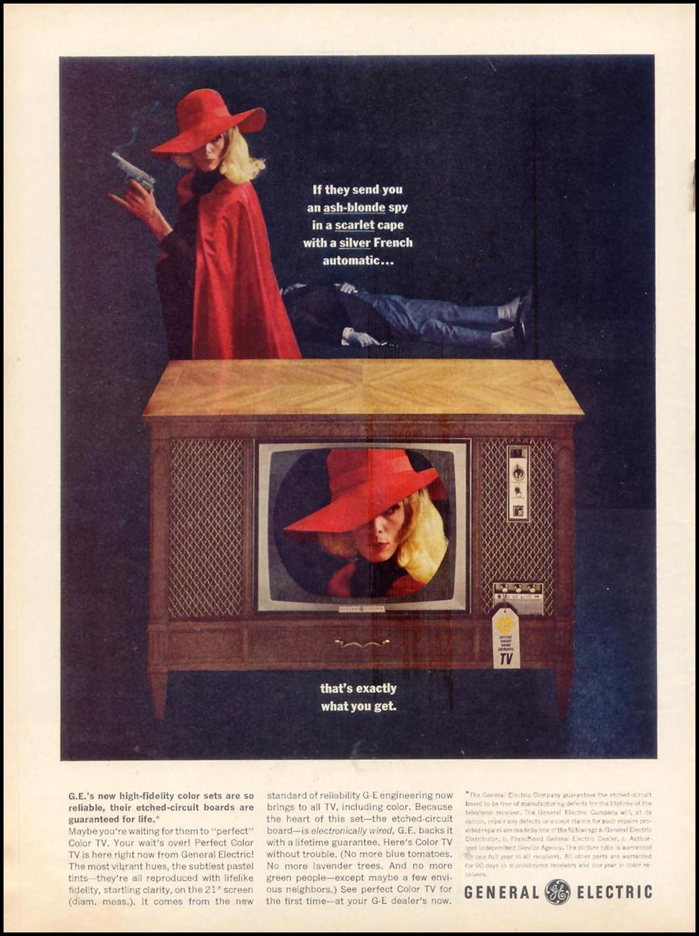 GENERAL ELECTRIC PERFECT COLOR TELEVISION