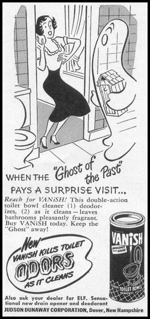 VANISH TOILET BOWL CLEANER WOMAN'S DAY 10/01/1949 p. 139