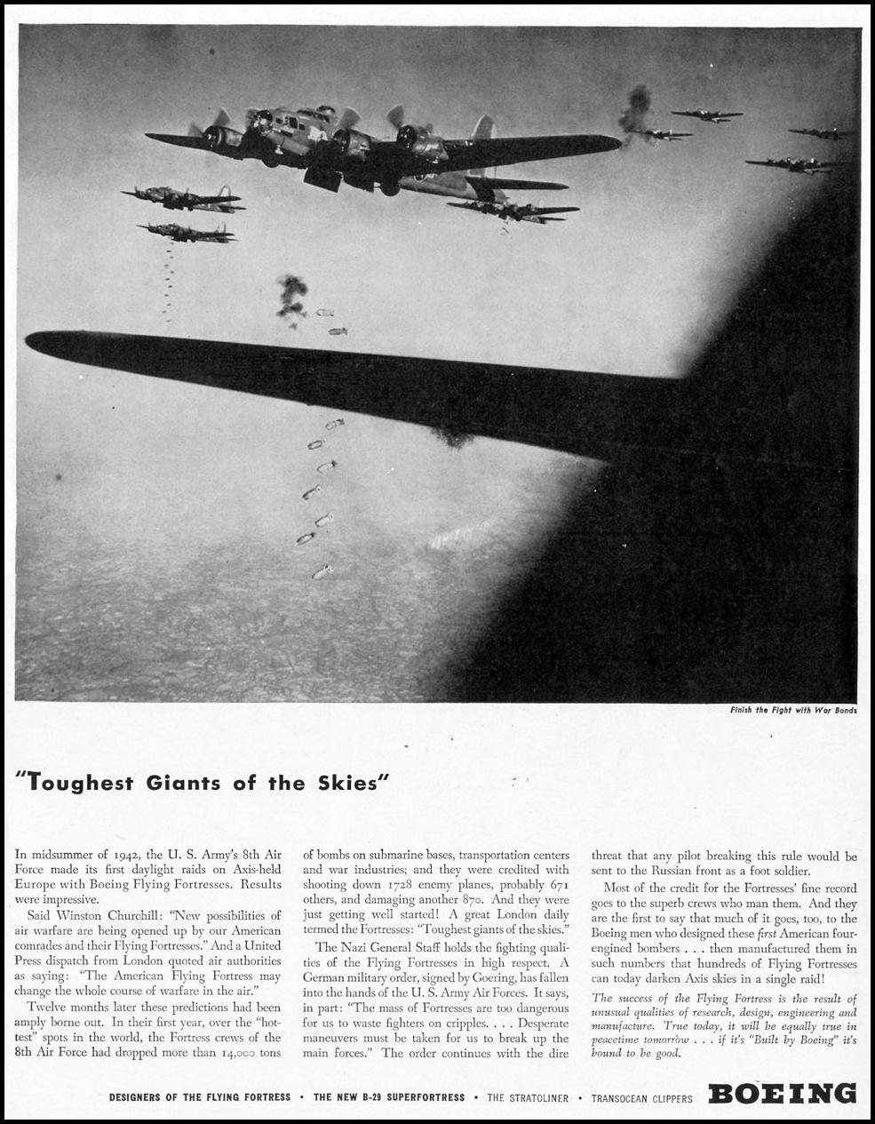 BOEING B-17 FLYING FORTRESS LIFE 02/21/1944 p. 61