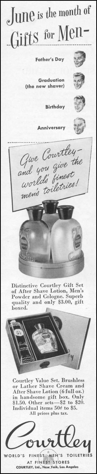 MEN'S TOILETRIES LIFE 06/05/1950 p. 82