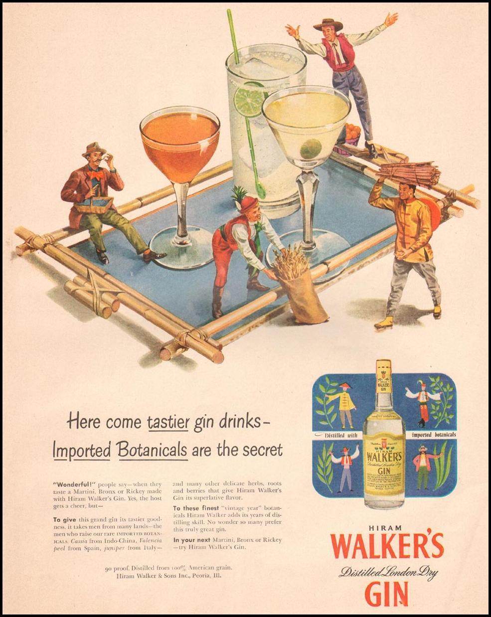 HIRAM WALKER'S GIN LIFE 07/02/1951 p. 83