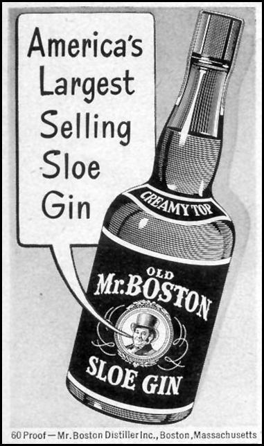 OLD MR. BOSTON SLOE GIN LIFE 07/30/1951 p. 59