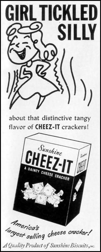 CHEEZ-IT CRACKERS LIFE 11/15/1948 p. 9